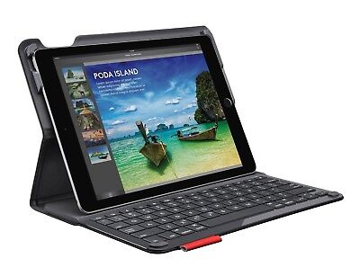Logitech Type+ Ultrathin Keyboard Smooth Folio Case iPad Air 2 920-006912 Black