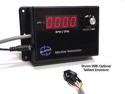 Machtach Machine Digital Tachometer Kit - Rpmsfm Any Lathe Mill Drill Press