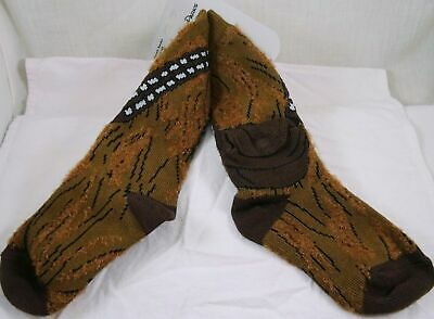 Disney Parks Star Wars Chewbacca Socks  w/pocket Youth Medium NWT