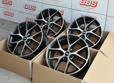 BBS SR vulcanograu diamand 4 Felgen 18 Zoll SR041 neuer BMW 3er G20 G21 + ABE