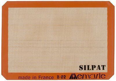 Silpat Premium Non-Stick Silicone Baking Mat, Half Sheet Size NEW