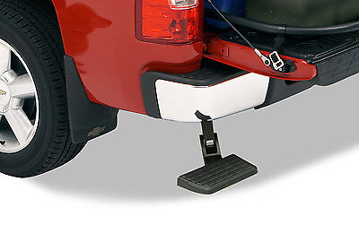 AMP Research BedStep Rear Folding Step DODGE RAM 1500 Single Exhaust & Gas 09-19