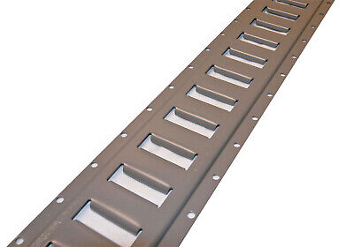 8 Pieces of Gray Painted E Track for Tractor Trailers Hunting Tactical Trailer