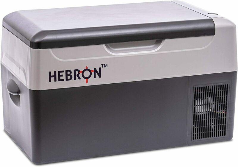 Hebron Automotive 23Q Portable Refrigerator - Efficient Car Fridge/Freezer for C