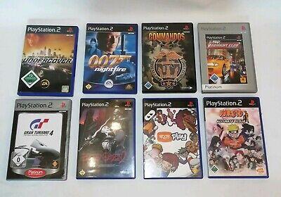 8x PS2 Spiele Commandos2 NFS NARUTO 007 GT4 BloodOmen2 MidnightClub EyeToyPlay online kaufen