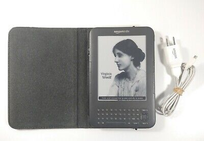 Amazon Kindle Keyboard 3rd Generation | Model D00901 | Wi-Fi + 3G | NEW BATTERY