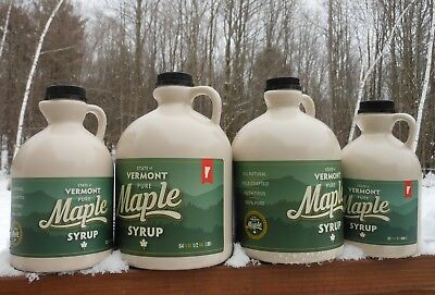 Pure Vermont Maple Syrup-Pint-Grade A-Dark Amber-Robust-Award Winning ()