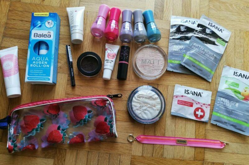 Großes Kosmetikpaket Schminke Beauty Kosmetik 21 Teile Annayake Polaar Missoni