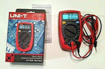 Uni-t Ut33d Palm Size Multimeter