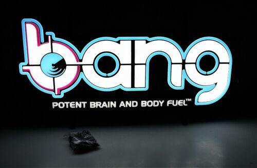 BANG Energy Drink Neon Sign NIB
