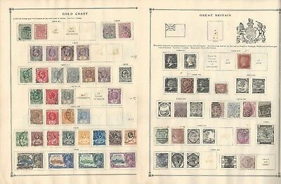 Gilbert & Ellice, Gold Coast, Great Britain Collection on Scott International
