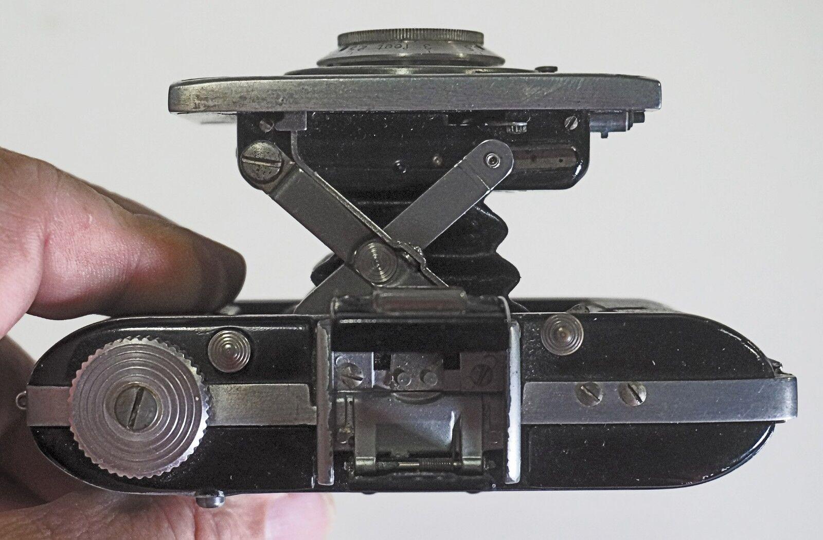 Kodak Flash Bantam, Miniature Folding Camera From 1947. Working. - $50.00