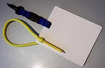 Schreibtafel mit Stiftaufnahme!!! 12,5 x 15 cm  - Ideal f. UW -