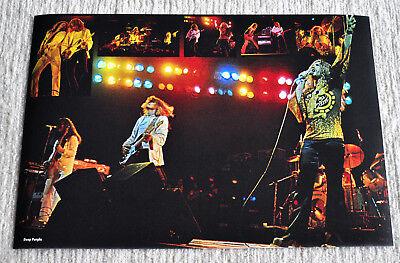 Deep Purple poster Deep Purple Mk IV Tommy Bolin Last concert in Budokan poster!