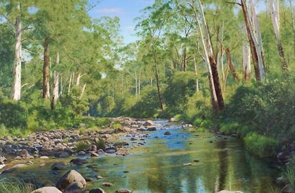 Wanted: Large, beautifully framed print titled - Tranquil Stream