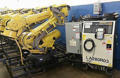 Fanuc Robot R-2000ia 200ew With Rj3ib Controller - Tested Clean - Complete