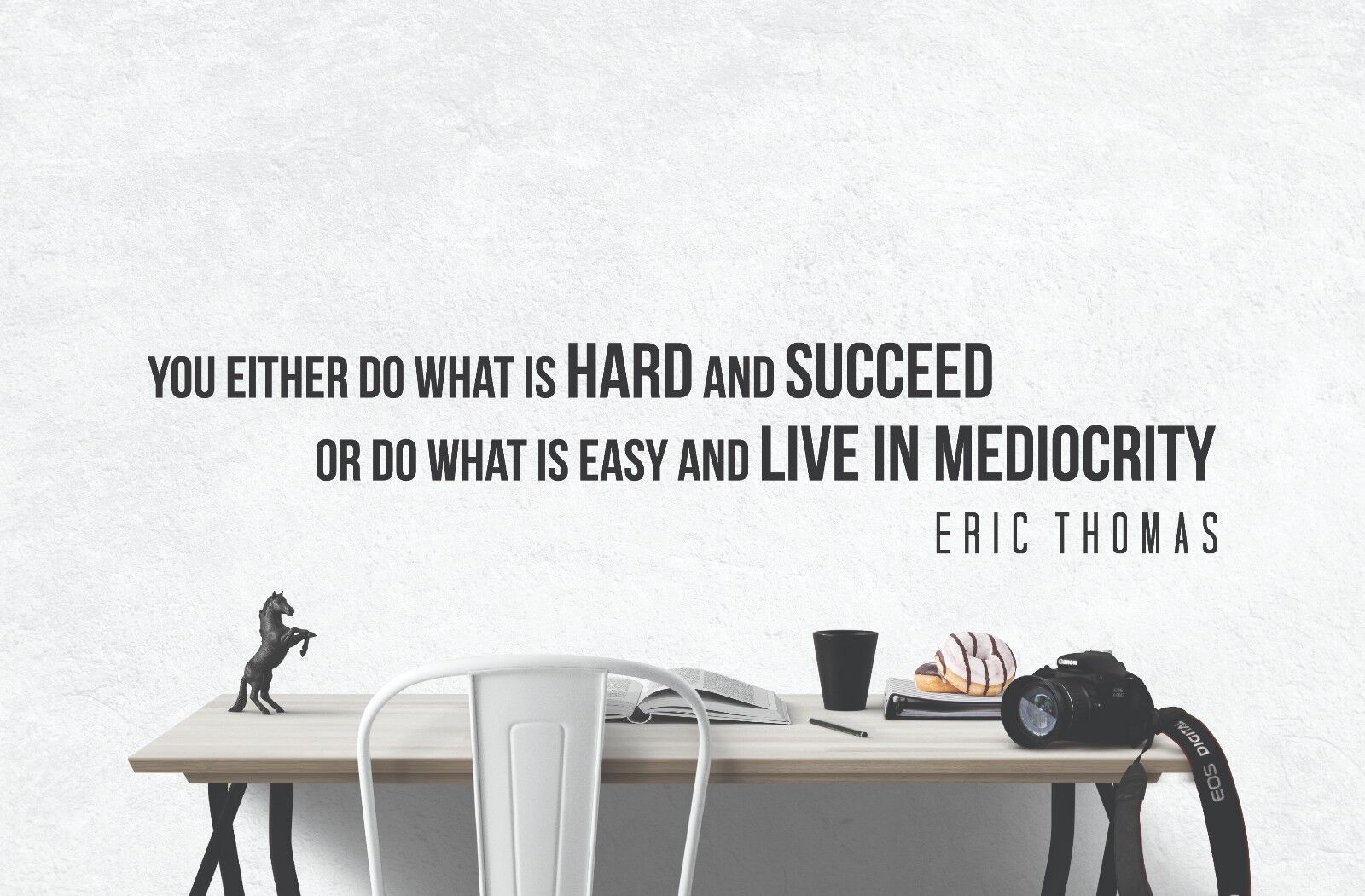 Eric Thomas INSPIRATIONAL MOTIVATIONAL Wall Decals Art Quote
