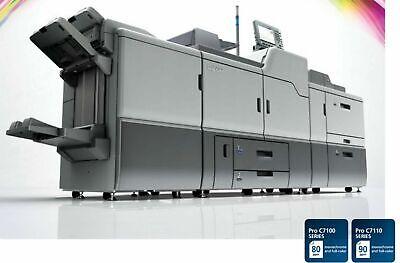 Ricoh Pro C7110x Color Digital Press Copier Printer