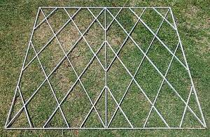 Vintage Steel Panel Screen Suit Fence Trellis or Bed Head South Windsor Hawkesbury Area Preview