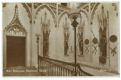 Kenmore - Taymouth Castle Staircase - Postcard - By Valentines, #759