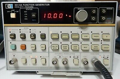 Hp 3314a Function Generator With Hpib Interface