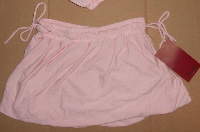 NWT Mirella Soft Jersey Bubble Dance Skirt Pink Child 8/10
