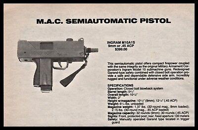 Advertisements - Pistol Gun Print Ad