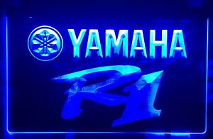 Affiche DEL Yamaha R1 LED Sign.