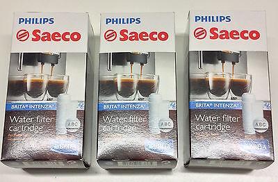 8 x ORIGINAL  SAECO  Wasserfilter  INTENZA + von  BRITA  Nr. CA 6702/00