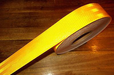 Konturmarkierung Reflektorfolie Gelb Selbstklebend Meterware 2,95/m