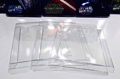 50 STEELBOOK Box Protectors  Custom Made  Sleeves / Slipcovers / Plastic Cases