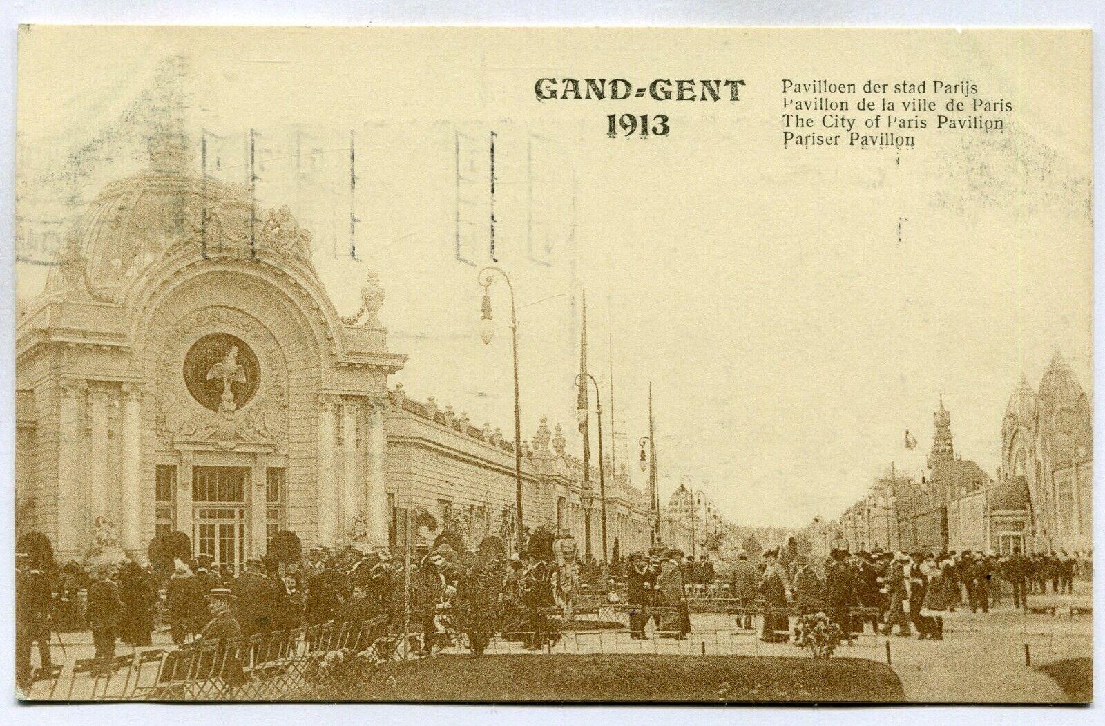 CPA - Carte Postale - Belgique - Exposition Universelle de Gand 1913 - Pavillon