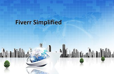 Fiverr Simplified   15 Videos On 1 Cd