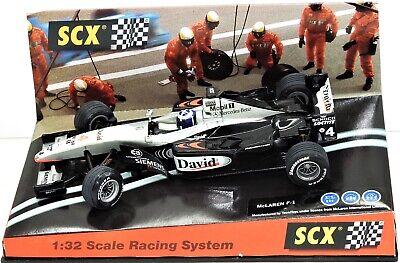 60870 SCX McLaren Mercedes MP4-16 F1 David Coulthard 4 1/32 slot car
