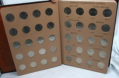 1999 2008 Washington Statehood Quarters Set Dansco Album Uncirculated 100 Coins