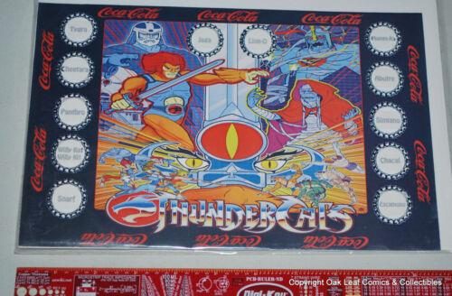 Thundercats Battle Cartoon Complete Bottle Cap Set 10 Brazil Coca Cola Coke