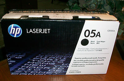GENUINE HP 05A Black Toner Cartridge (HP CE505A) P2035 P2055 NEW OEM  FREEship on Rummage