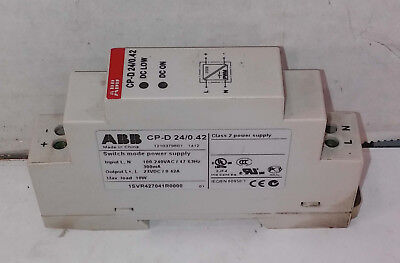 1 Used Abb Cp-d 240.42 Switch Mode Power Supply Free Cd Make Offer