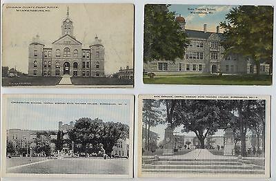 7 1910 40S  Warrensburg Mo Missouri Postcards Teachers College   Others