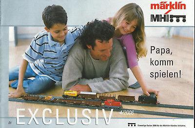 Katalog Märklin Neuheiten 4/2006 Modellbahnen in 1:87 HO
