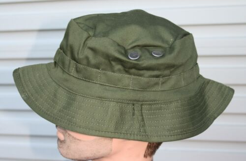 AUSTRALIAN ARMY GIGGLE BUSH HAT OLIVE GREEN  ADULTS - SIZES S to XL REPRODUCTION