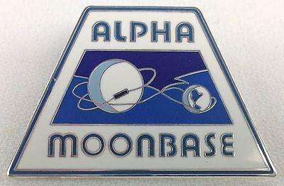 SPACE 1999 - Alpha Moonbase - Gerry Anderson TV Series - UK Enamel Lapel Tie Pin