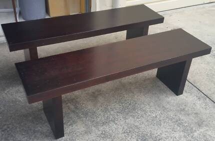 Timber Bench Seats Annerley Brisbane South West Preview