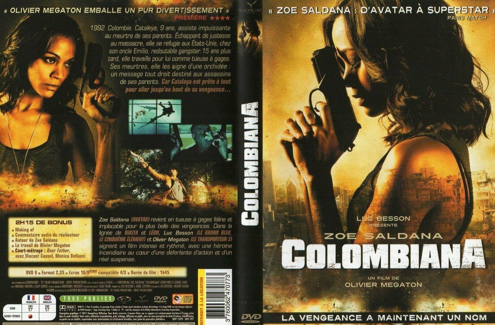 DVD - COLOMBIANA, film de LUC BESSON