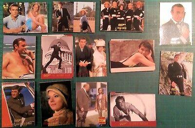 James Bond 40th Anniversary Trading Cards - Inkworks