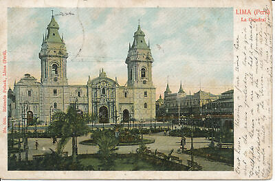 PC33700 Lima. Peru. La Catedral. Eduardo Polack. No 508 comprar usado  Enviando para Brazil