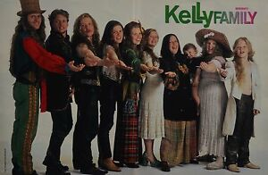 THE KELLY FAMILY - A3 Poster (ca. 42 x 28 cm) - Clippings Fan Sammlung NEU