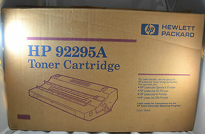 Genuine HP LaserJet Printer Black Toner Cartridge 92295A Series II IID III IIID