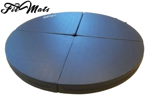 FitMat 5 Foot Multi-Use Portable Dance/Yoga Cushion 4.5-inch EPE Foam (Black)