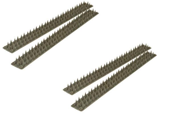6 x 45cm Garden Fence Topper Prickle Strip 2.7mt Cat Bird Stop STV Defenders